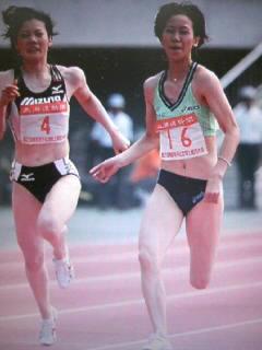陸上女子100m五輪代表